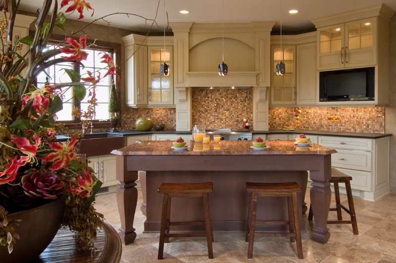 Craftsman House Plan Kitchen Photo 02 - Waterstone Luxury Home 013S-0009   House Plans and More