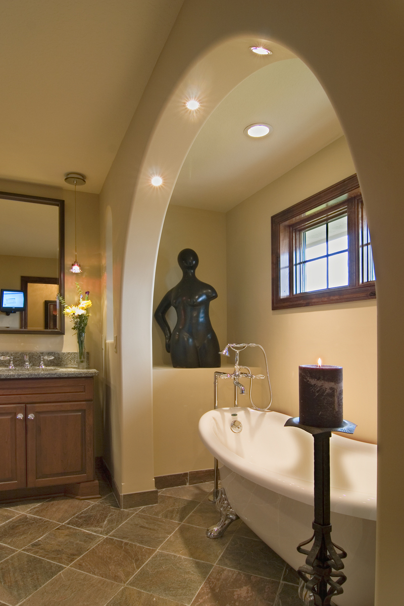 Craftsman House Plan Master Bathroom Photo 01 - Waterstone Luxury Home 013S-0009   House Plans and More