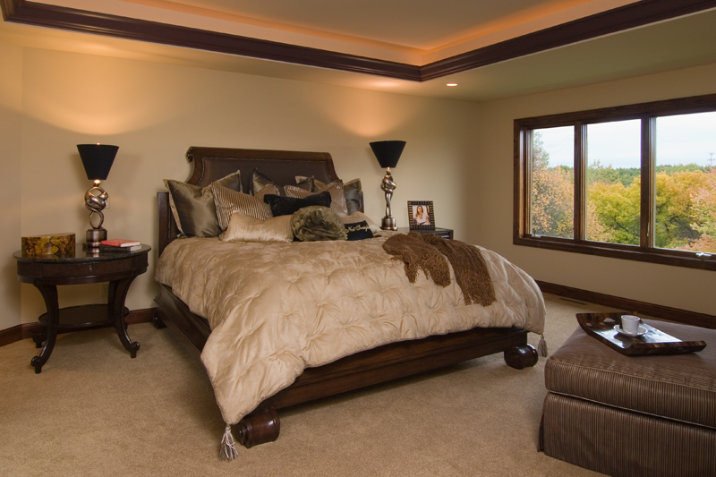 Craftsman House Plan Master Bedroom Photo 01 - Waterstone Luxury Home 013S-0009   House Plans and More