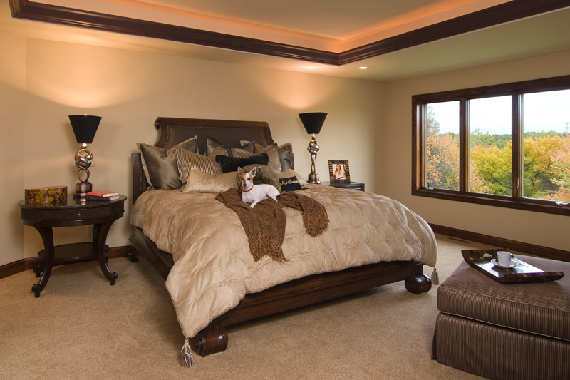 Craftsman House Plan Master Bedroom Photo 02 - Waterstone Luxury Home 013S-0009   House Plans and More