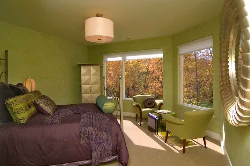 Craftsman House Plan Bedroom Photo 01 - Sidney Field Modern Home 013S-0011 | House Plans and More