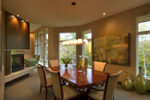 Craftsman House Plan Dining Room Photo 01 - Sidney Field Modern Home 013S-0011 | House Plans and More