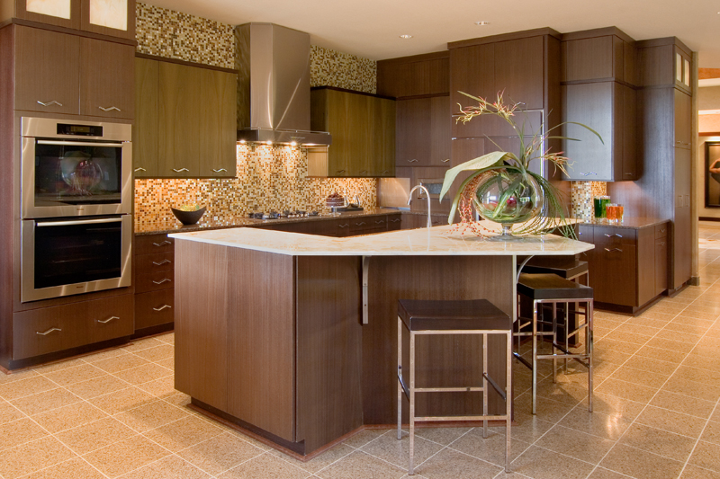 Craftsman House Plan Kitchen Photo 02 - Sidney Field Modern Home 013S-0011 | House Plans and More