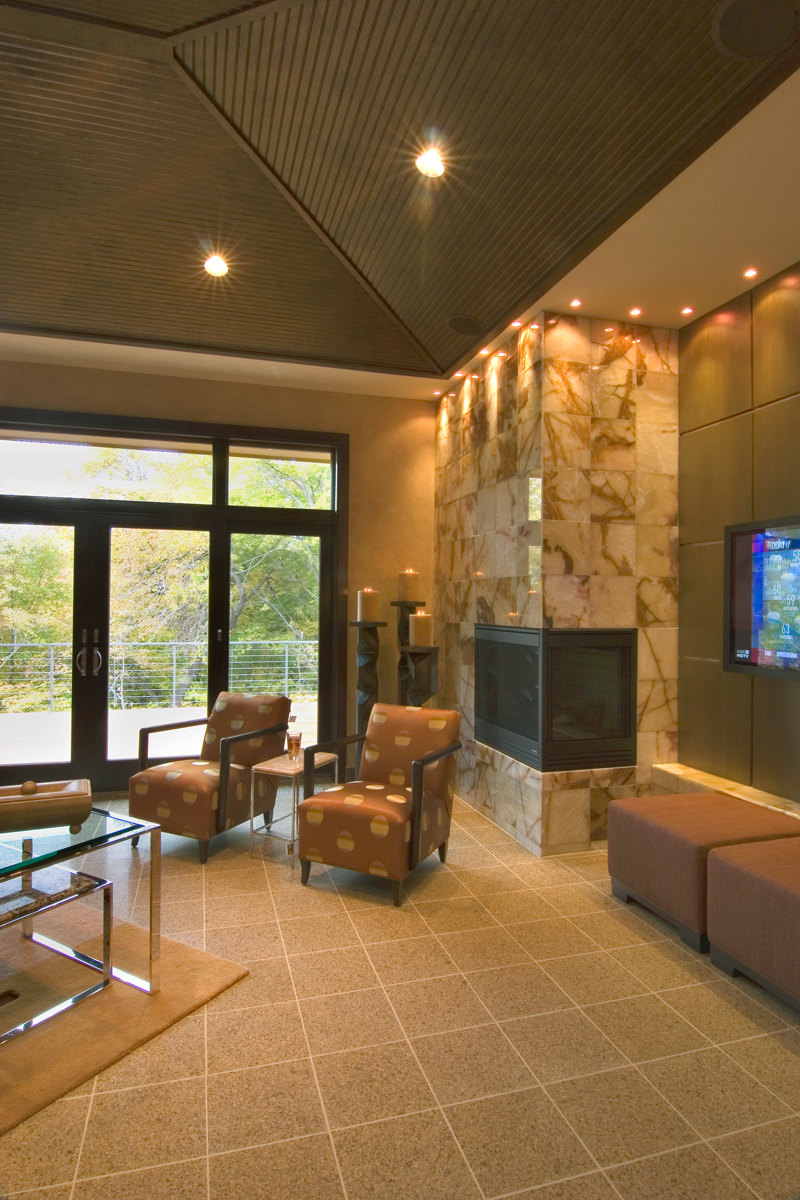 Craftsman House Plan Sitting Area Photo - Sidney Field Modern Home 013S-0011 | House Plans and More