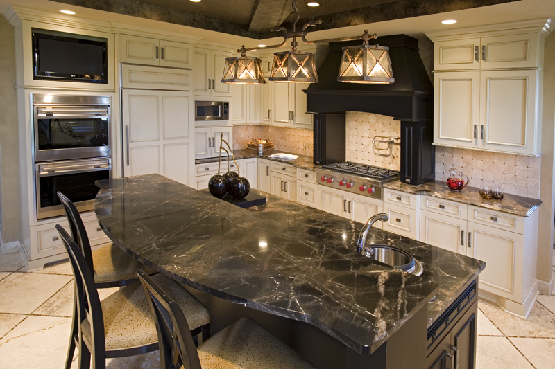 Luxury House Plan Kitchen Photo 08 - Big Stone Ridge Craftsman Home 013S-0012 | House Plans and More