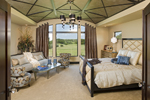 Luxury House Plan Master Bedroom Photo 01 - Big Stone Ridge Craftsman Home 013S-0012 | House Plans and More