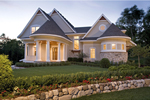 Luxury House Plan Front of Home - Hilliard Luxury Home 013S-0013 | House Plans and More