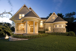 Luxury House Plan Front Photo 02 - Hilliard Luxury Home 013S-0013 | House Plans and More