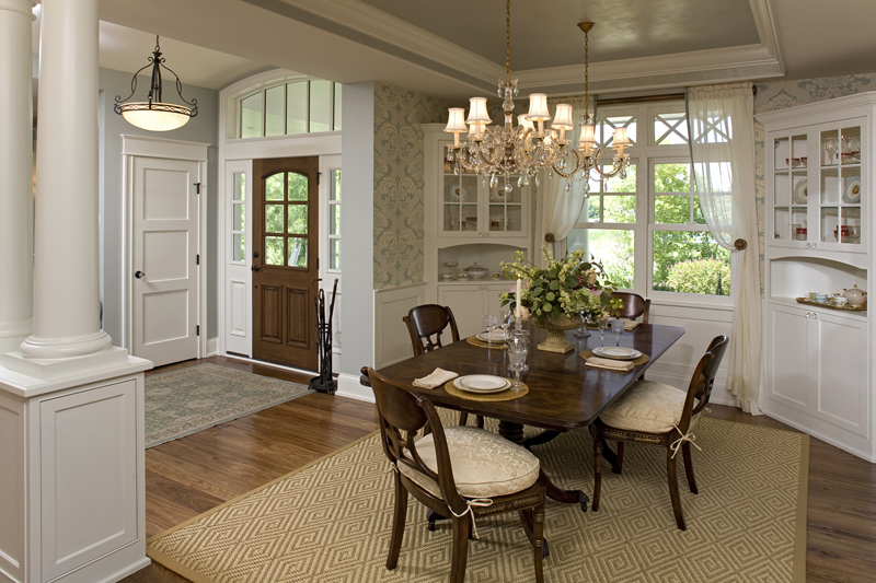 Luxury House Plan Dining Room Photo 01 - Avalon Place Luxury Home 013S-0014 | House Plans and More