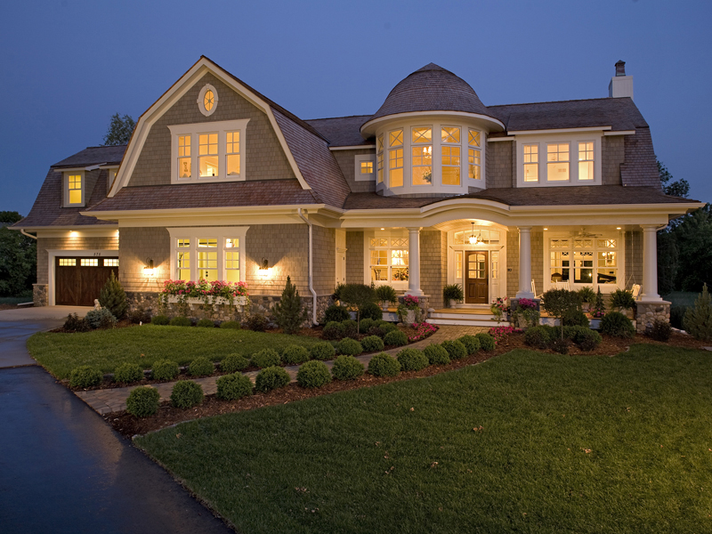 Luxury House Plan Front of Home - Avalon Place Luxury Home 013S-0014 | House Plans and More