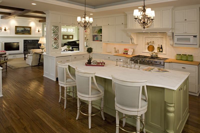 Luxury House Plan Kitchen Photo 01 - Avalon Place Luxury Home 013S-0014 | House Plans and More
