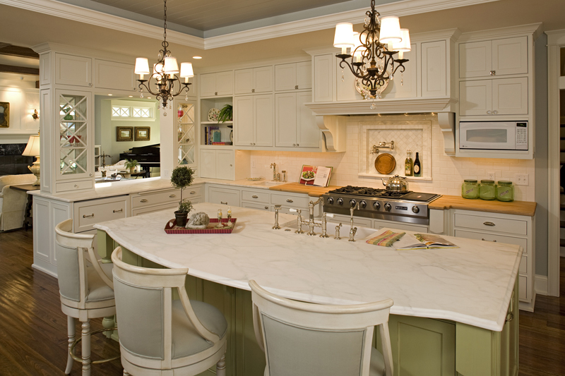 Luxury House Plan Kitchen Photo 02 - Avalon Place Luxury Home 013S-0014 | House Plans and More