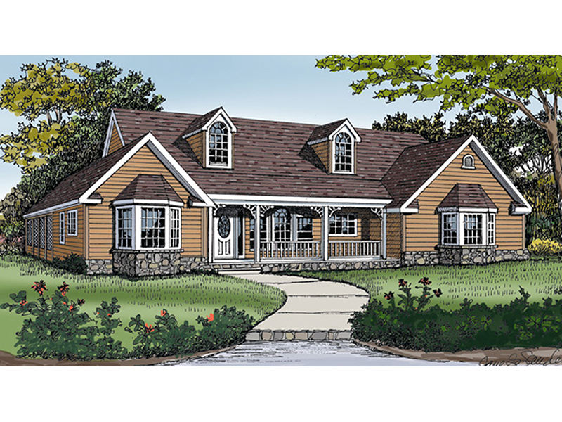 Drakestone Country Ranch Home Plan 016D-0003 | House Plans ... on ranch backyard, ranch style homes, ranch modular homes, ranch log homes, log cabin plans, townhouse plans, strip mall plans, ranch luxury homes, ranch art, 3 car garage plans, summer cottage plans, floor plans,