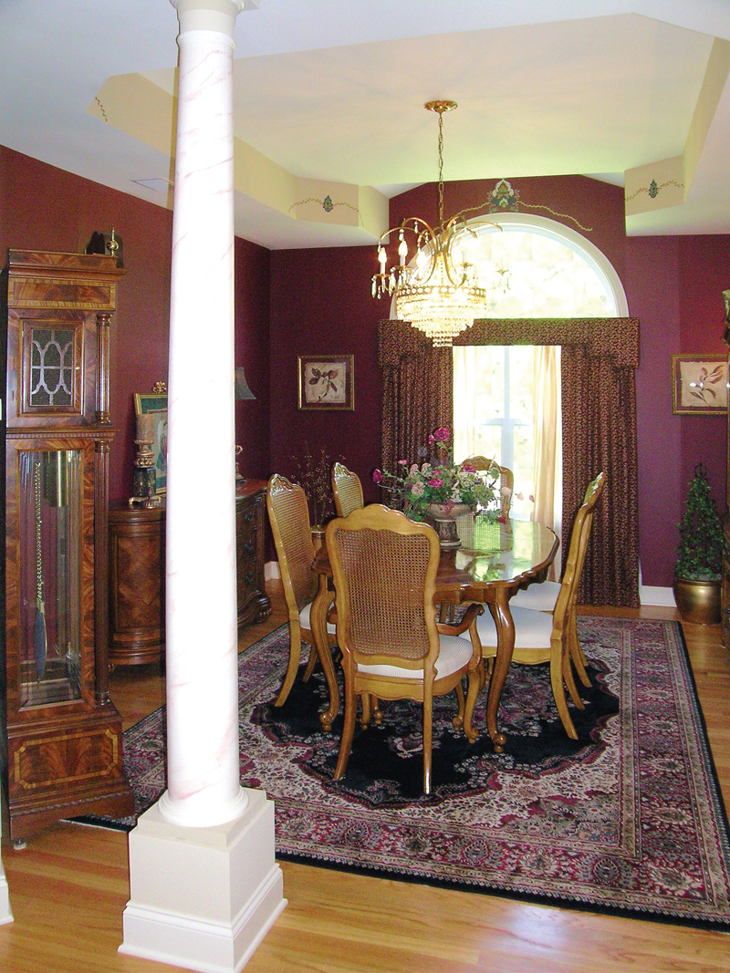 Traditional House Plan Dining Room Photo 01 - Lawton Ranch Home 016D-0023 | House Plans and More