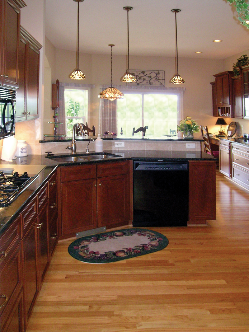 Traditional House Plan Kitchen Photo 01 - Lawton Ranch Home 016D-0023 | House Plans and More