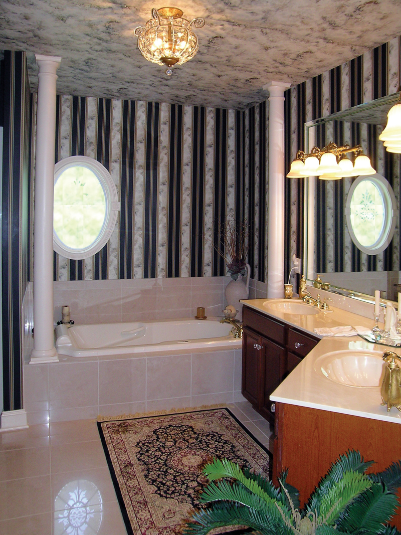 Traditional House Plan Master Bathroom Photo 01 - Lawton Ranch Home 016D-0023 | House Plans and More
