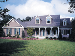 Country House Plans Front of House 016D-0048