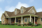 Craftsman House Plan Front Photo 01 - Callaway Farm Country Home 016D-0049 | House Plans and More