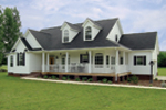 Craftsman House Plan Front Photo 02 - Callaway Farm Country Home 016D-0049 | House Plans and More