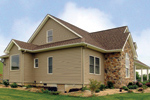 Craftsman House Plan Side View Photo 01 - Callaway Farm Country Home 016D-0049 | House Plans and More