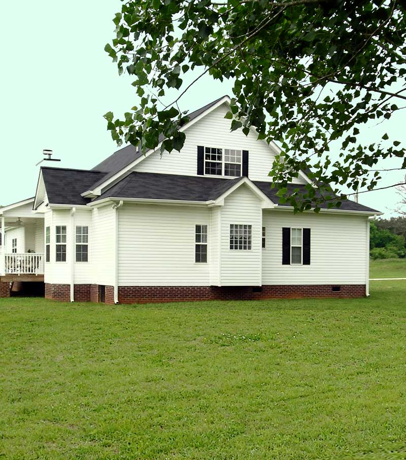 Craftsman House Plan Side View Photo 02 - Callaway Farm Country Home 016D-0049 | House Plans and More