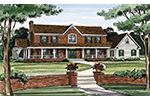 Southern House Plan Front Image - Dorrington Southern Farmhouse 016D-0059 | House Plans and More