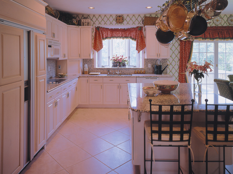Country House Plan Kitchen Photo 03 - Elkgrove Traditional Home 016D-0064 | House Plans and More