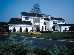 Modern House Plans Front of House 016D-0068