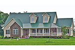 Country House Plan Front of House 016D-0110
