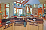 Modern House Plan Kitchen Photo 01 - Miller Luxury Craftsman Home 016S-0001 | House Plans and More