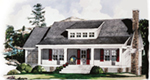 Lake House Plan Front of House 019D-0035