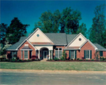 Traditional House Plan Front of House 019D-0039