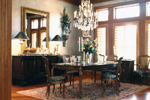 Luxury House Plan Dining Room Photo 01 - Corbin Luxury Home 019S-0001 | House Plans and More