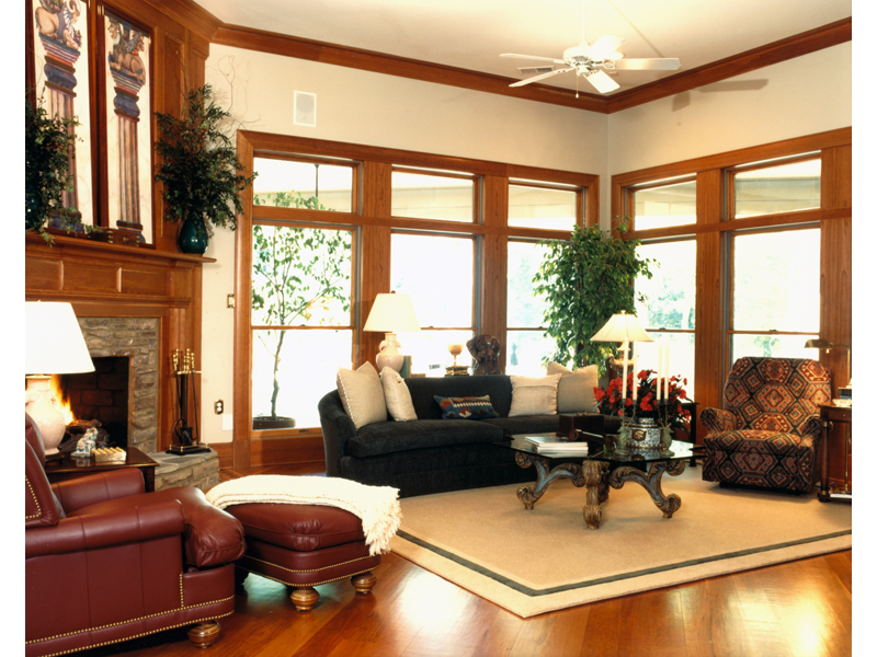 Luxury House Plan Great Room Photo 01 - Corbin Luxury Home 019S-0001 | House Plans and More