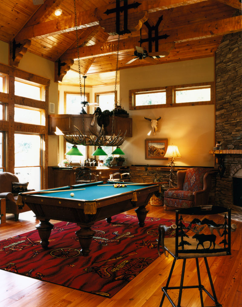 Luxury House Plan Recreation Room Photo 01 - Corbin Luxury Home 019S-0001 | House Plans and More
