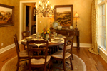 European House Plan Dining Room Photo 01 - Darby Hill European Style Home 019S-0003 | House Plans and More