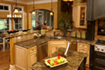 European House Plan Kitchen Photo 01 - Darby Hill European Style Home 019S-0003 | House Plans and More