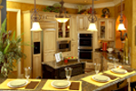European House Plan Kitchen Photo 02 - Darby Hill European Style Home 019S-0003 | House Plans and More