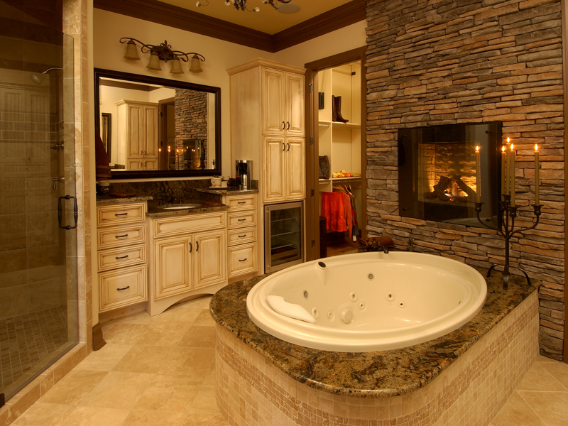 European House Plan Master Bathroom Photo 01 - Darby Hill European Style Home 019S-0003 | House Plans and More