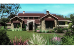 Waterfront House Plan Front of House 019S-0006