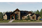Luxury House Plan Front of House 019S-0007