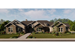 Country House Plan Front of House 019S-0008