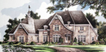 Luxury House Plan Front of House 019S-0041