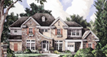 European House Plan Front of House 019S-0042