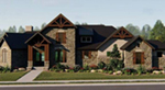 Rustic Home Plan Front of House 019S-0043