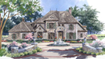 Luxury House Plan Front of House 019S-0047