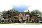 Luxury House Plan Front of House 019S-0048