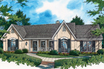 House Plan Front of Home 020D-0036