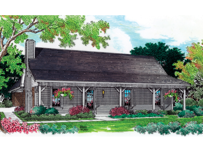 Brockwell Rustic Country Home Plan 020D-0046   House Plans ... on open floor plan ranch house plans, metal roof ranch house plans, brick ranch house plans, galley kitchen ranch house plans, basement ranch house plans, side entry garage ranch house plans, gazebo ranch house plans, landscaping ranch house plans, 4 bed ranch house plans, corner lot ranch house plans, 3 car garage ranch house plans,