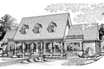 House Plan Front of Home 020D-0216